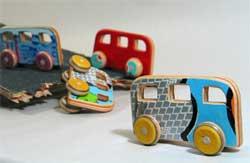 jouets recyclés