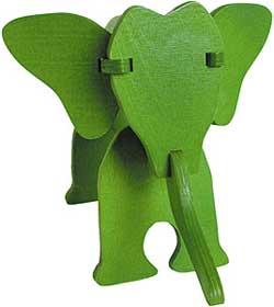 puzzle elephant calder vilac