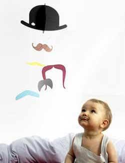 Mobile design enfant