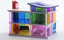 kaleidoscope house