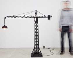 La lampe grue de Studio Job=
