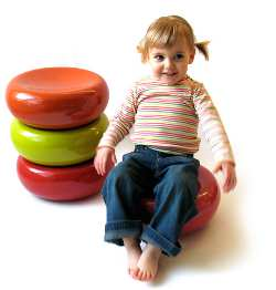 tabouret design enfant mini mello