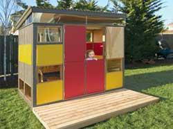 maison de jardin design