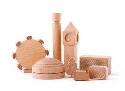Tout petits jouets en bois