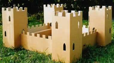 chateau fort carton paperprod