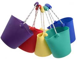 seau design scrunch-bucket