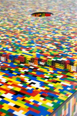 table design lego