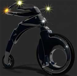 vélo design électrique ykebike
